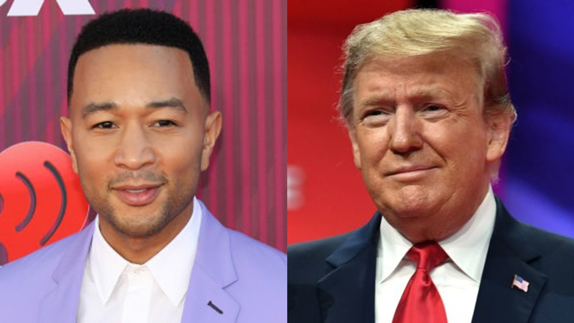 """John Legend saidthat President Trump """"needs to apologize for demonizing Muslims"""" after 50 people were killed at mosque shootings in New Zealand."""