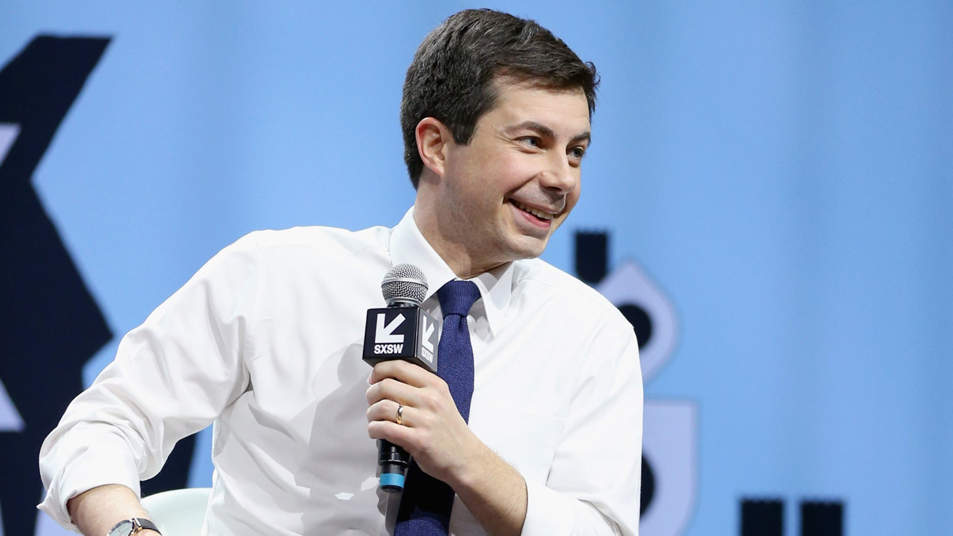 Pete Buttigieg speaks onstage at Conversations About America's Future: Mayor Pete Buttigieg during the 2019 SXSW Conference and Festivals at Austin City Limits Live at the Moody Theater on March 8, 2019 in Austin, Texas.