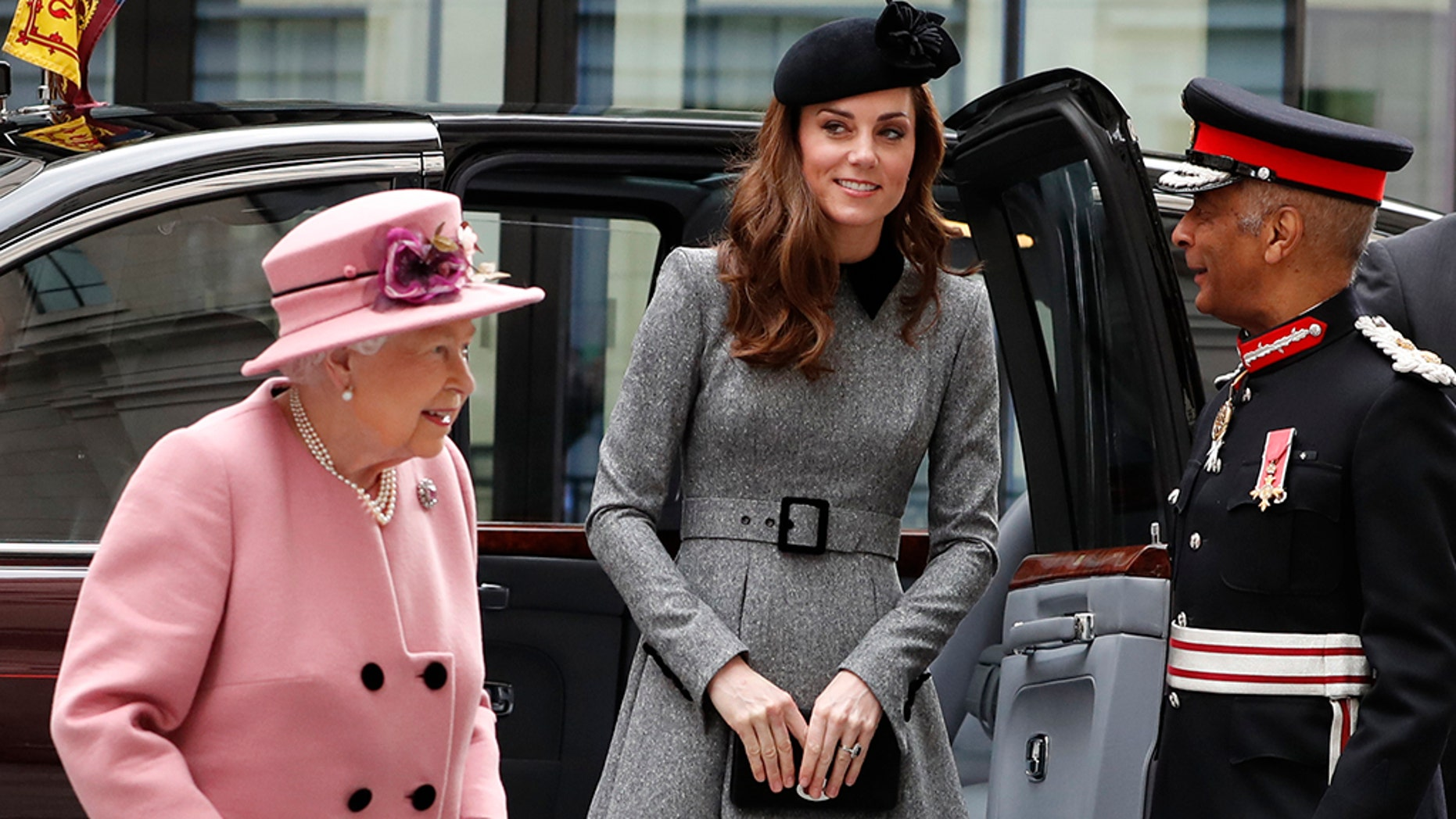 Kate Middleton Has First Solo Outing With Queen Elizabeth!