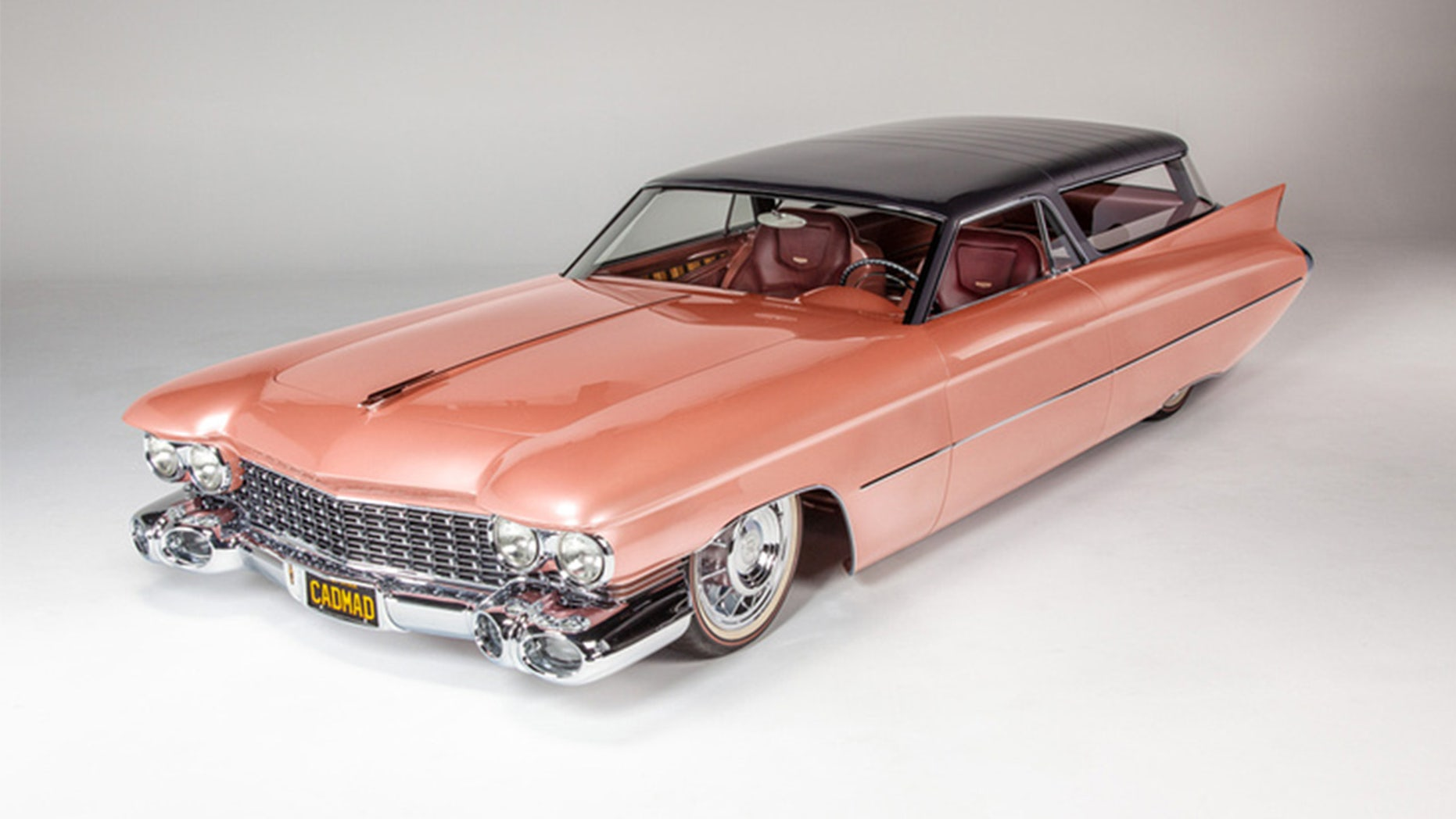 1959 Cadillac station wagon wins Ridler Award for best hot
