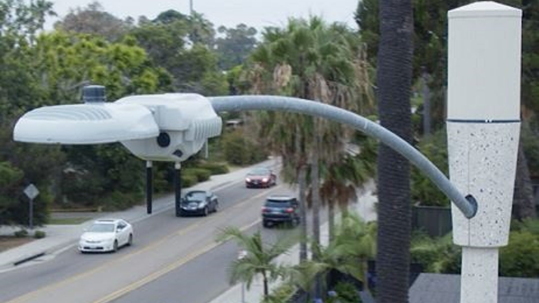 San Diego plans to install 4,200 video cameras and sensors on streetlights by 2020.