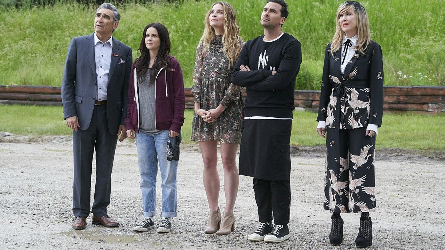 'Schitt's Creek' co-creators announced on Thursday that the series is ending after its sixth season