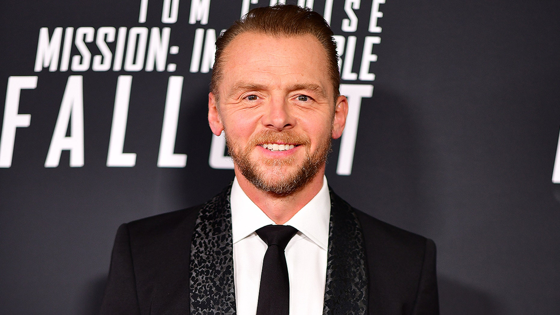 Actor Simon Pegg Demonstrates Off Shocking Weight Loss