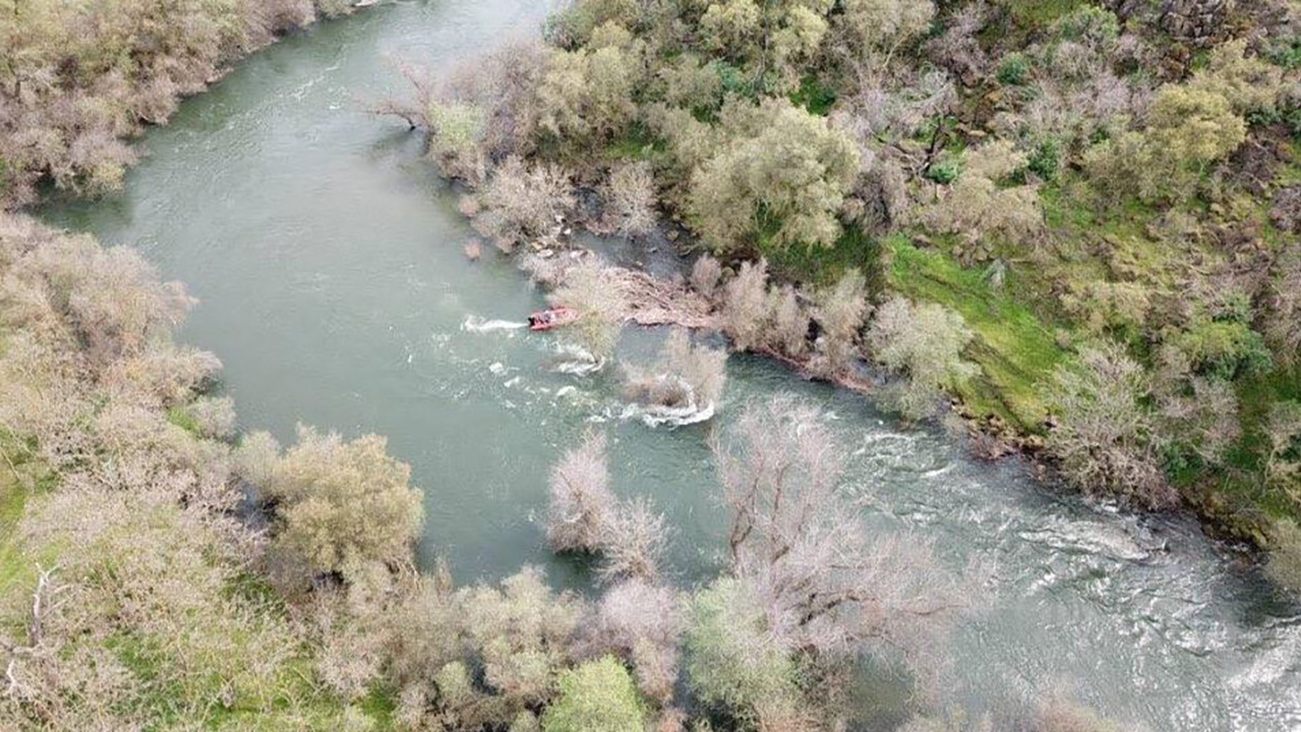 The search for a 5-year-old girl who slipped into the Stanislaus River in Northern California on Sunday has been reduced as she is now presumed to have drowned, a report said Tuesday.