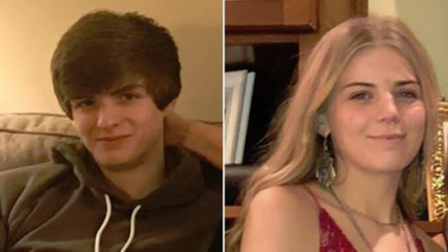 A teen is facing murder charges in Indiana in last week's disappearance of Thomas Grill, 18, (l.) and his girlfriend, Molley Lanham, 19, (r.).
