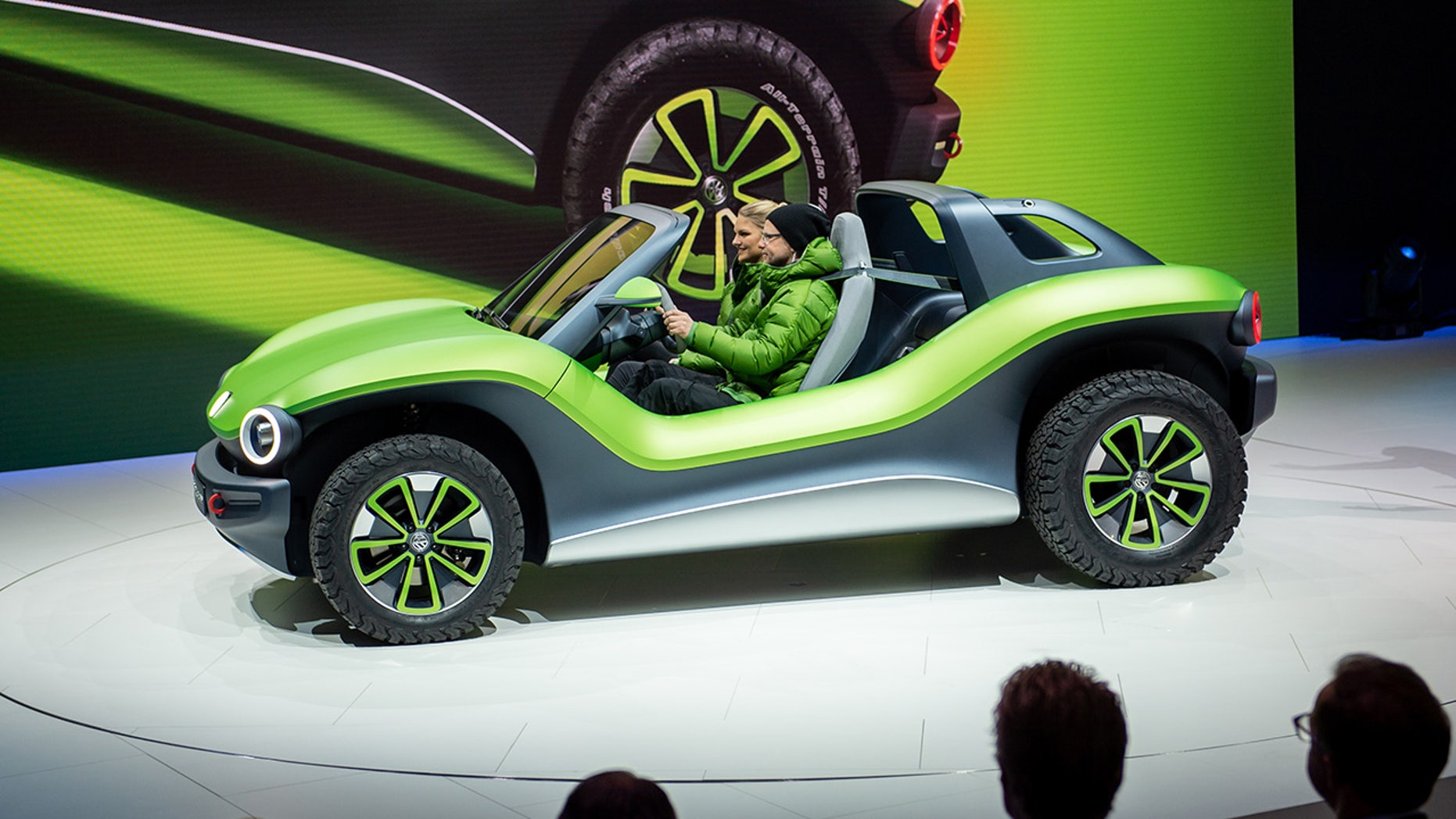 Volkswagen Revives The Classic Beach Buggy As Futuristic Electric Concept