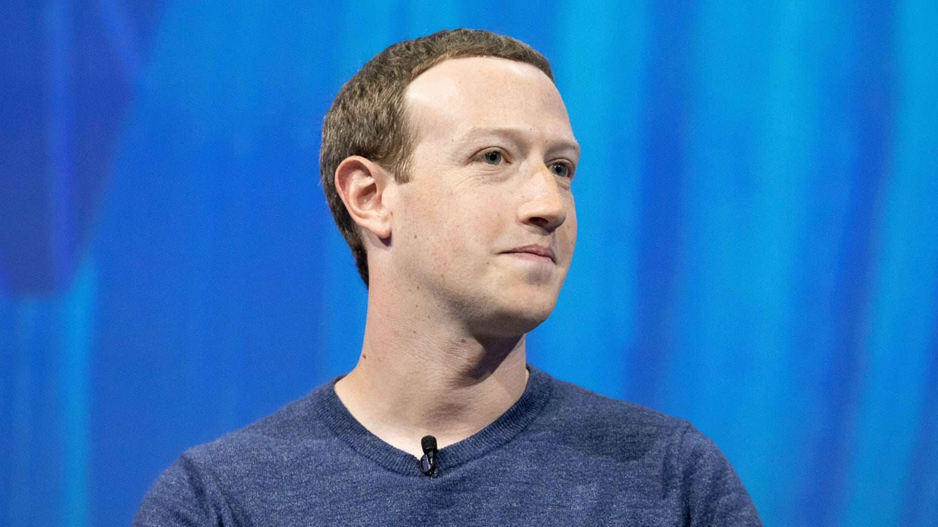 Mark Zuckerberg, chief executive officer and founder of Facebook Inc. attends the Viva Tech start-up and technology gathering at Parc des Expositions Porte de Versailles on May 24, 2018, in Paris.
