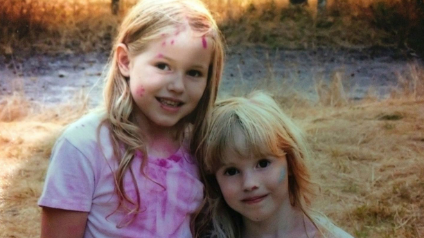 This undated photo provided by the Humboldt County Sheriff's Office shows Leia Carrico, 8, left, and her sister Caroline Carrico, 5, as they seek the public's help in locating them. More than 100 law enforcement personnel are searching for the two young sisters who've been missing from their Northern California home since Friday, March 1, 2019, last seen around 2:30 p.m. Friday outside their home in Benbow, a small community about 200 miles (320 kilometers) northwest of Sacramento. (Humboldt County Sheriff's Office via AP)