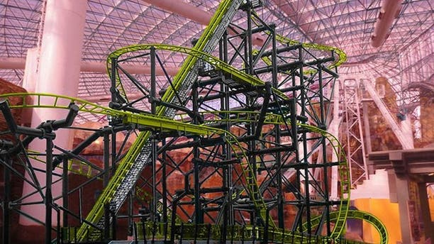 The El Loco, located within the casino's 5-acre Adventuredome, remained closed as of Tuesday night.