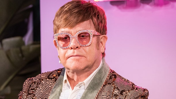 "Elton John discusses fatherhood in his autobiography ""Me."""