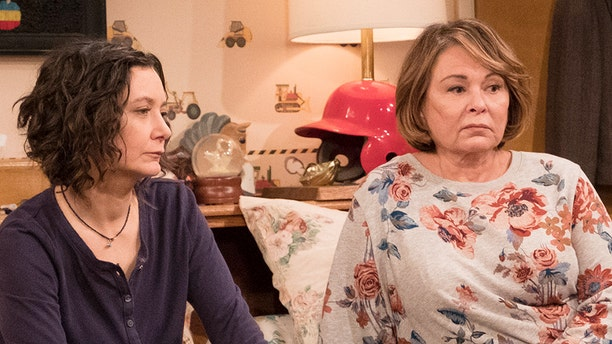 Roseanne Barr says she blames Sara Gilbert for the cancellation of her show.