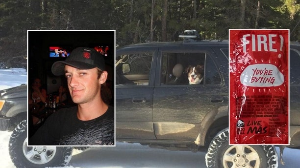 Jeremy Taylor and his dog Ally were found alive Friday, five days after their vehicle got stuck in snow.