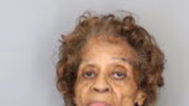 Bessie Bowen, 90, was arrested for allegedly pointing a gun and threatening to kill a neighbor over leaves in her yard.