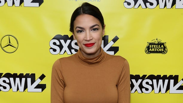 Alexandria Ocasio-Cortez attends the 'Knock Down The House' Premiere during the SXSW Conference and Festival at the Paramount Theater on March 10, 2019, in Austin, Texas.