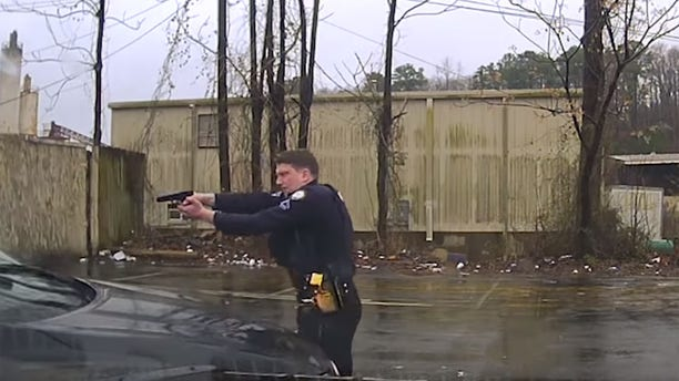 Little Rock Officer Charles Stark can be seen firing at least 15 times into the windshield of Bradley Blackshire's car after he tried to drive away on Feb. 22.