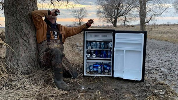 """""""I couldn't hardly believe they found it all intact,"""" said the son of the man whose refrigerator was washed away by the floodwaters."""