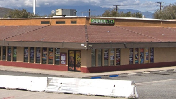 The Calskate Grand Terrace roller rink where owner Brian Harsany, 43, was found with multiple gunshot wounds.