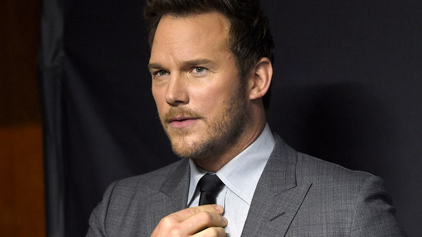 """Chris Pratt arrives at the """"Parks and Recreation"""" 10th anniversary reunion during the 36th annual PaleyFest on Thursday, March 21, 2019, at the Dolby Theatre in Los Angeles."""