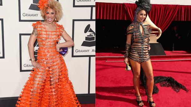 Joy Villa at the 2015 and 2016 Grammys