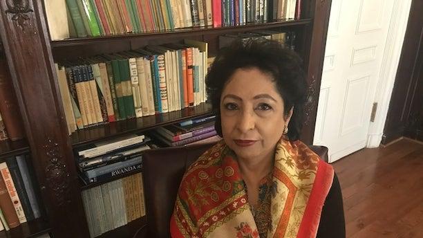 Pakistan's permanent representative to the United Nations, Maleeha Lodhi