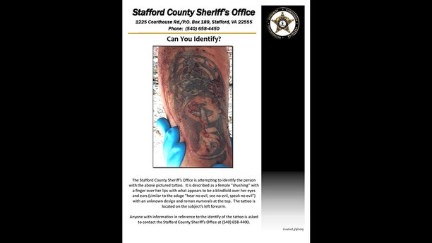 Cops identified MS-13 murder victim Jacson Pineda-Chicas, 16, this week after releasing a photo of a tattoo on his left arm.