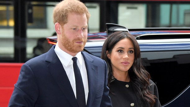 Prince Harry and Meghan Markle at New Zealand House