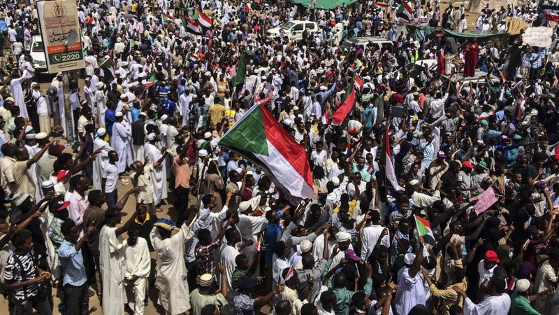 Westlake Legal Group 0563cc6d-800 Sudan protest leaders urge people to remain in streets amid military coup, with 16 people killed in last few days Lukas Mikelionis fox-news/world/world-regions/africa fox-news/world/conflicts fox news fnc/world fnc article 34aaddf4-e7fc-50a5-bdaa-8226c65b142d