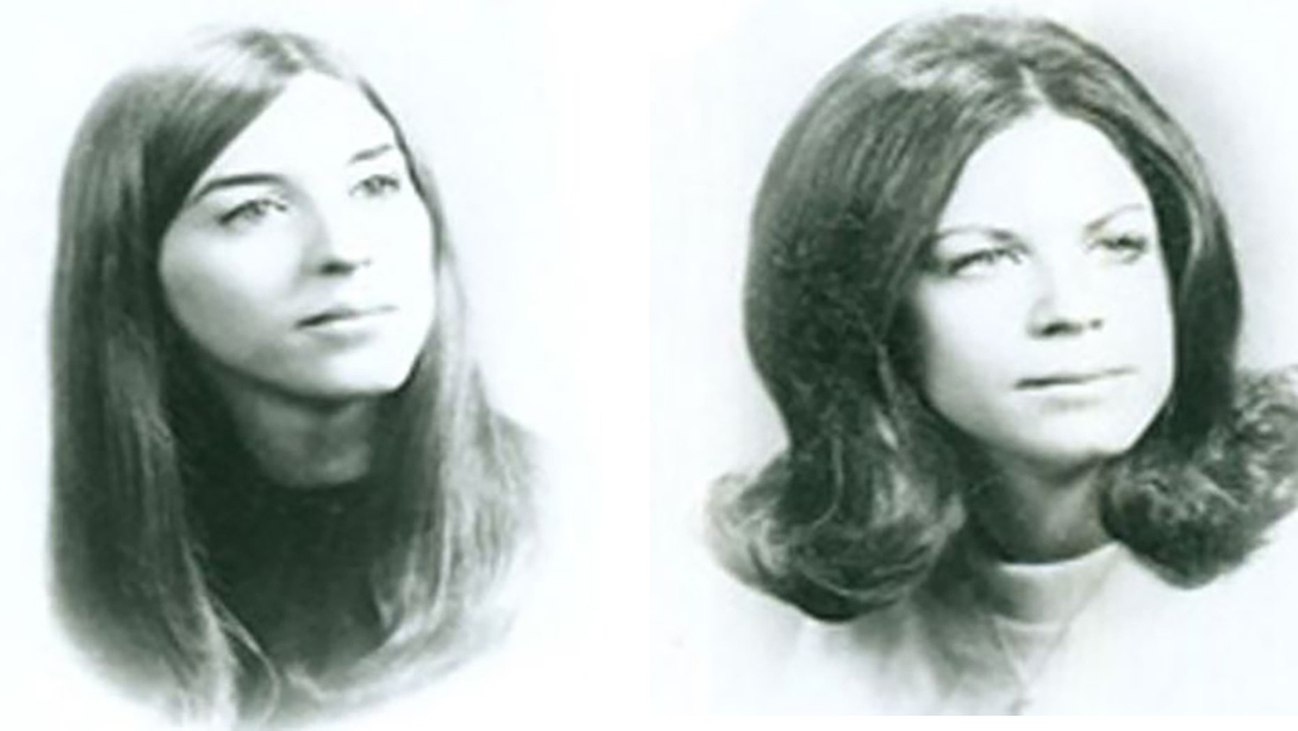Janice Frances Pietropoli (left) and Lynn Marie Seethaler (right) were both murdered in 1973 at beach cottage in Virginia.