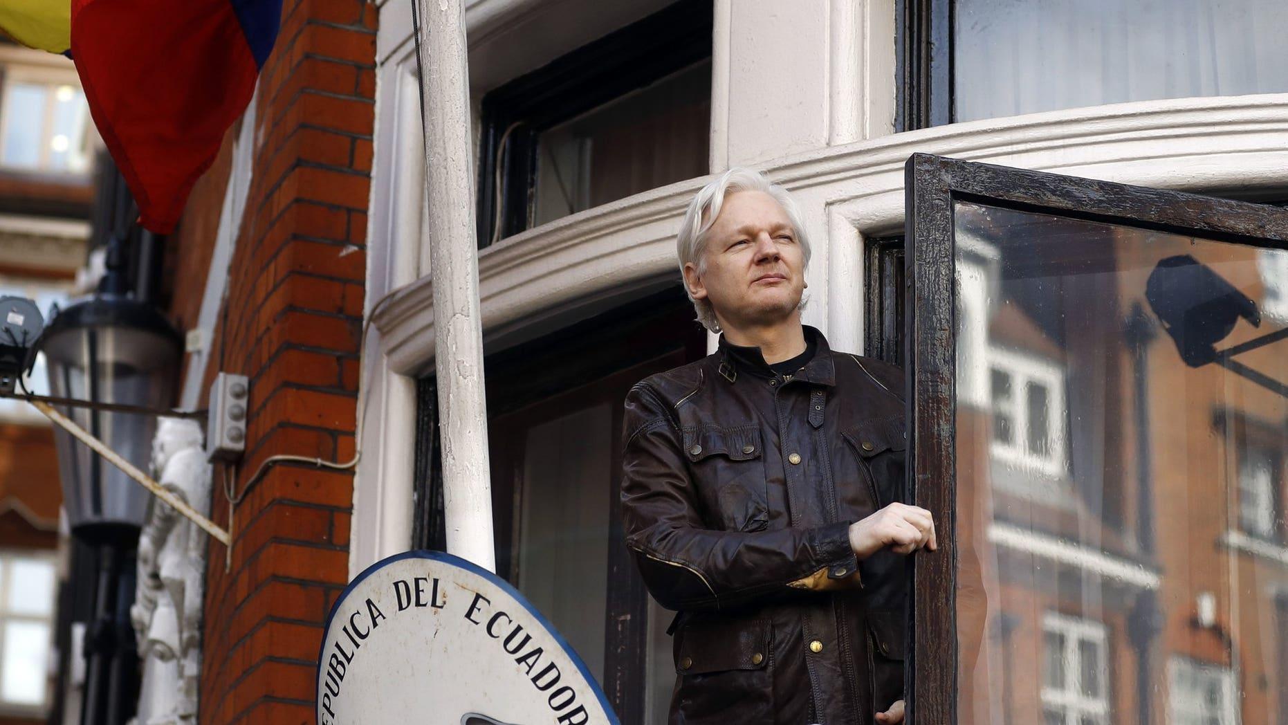 Ecuador Denies WikiLeaks Claim That It Plans To Expel Assange