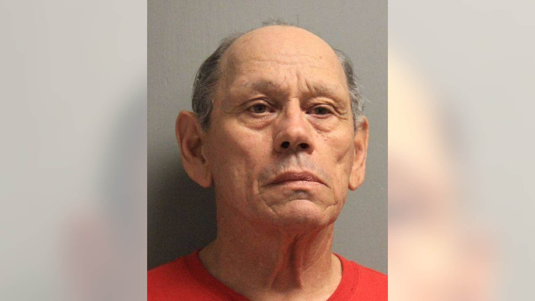 Harvey Joseph Fountain, 71, was charged with 100 counts of 1st-degree rape.