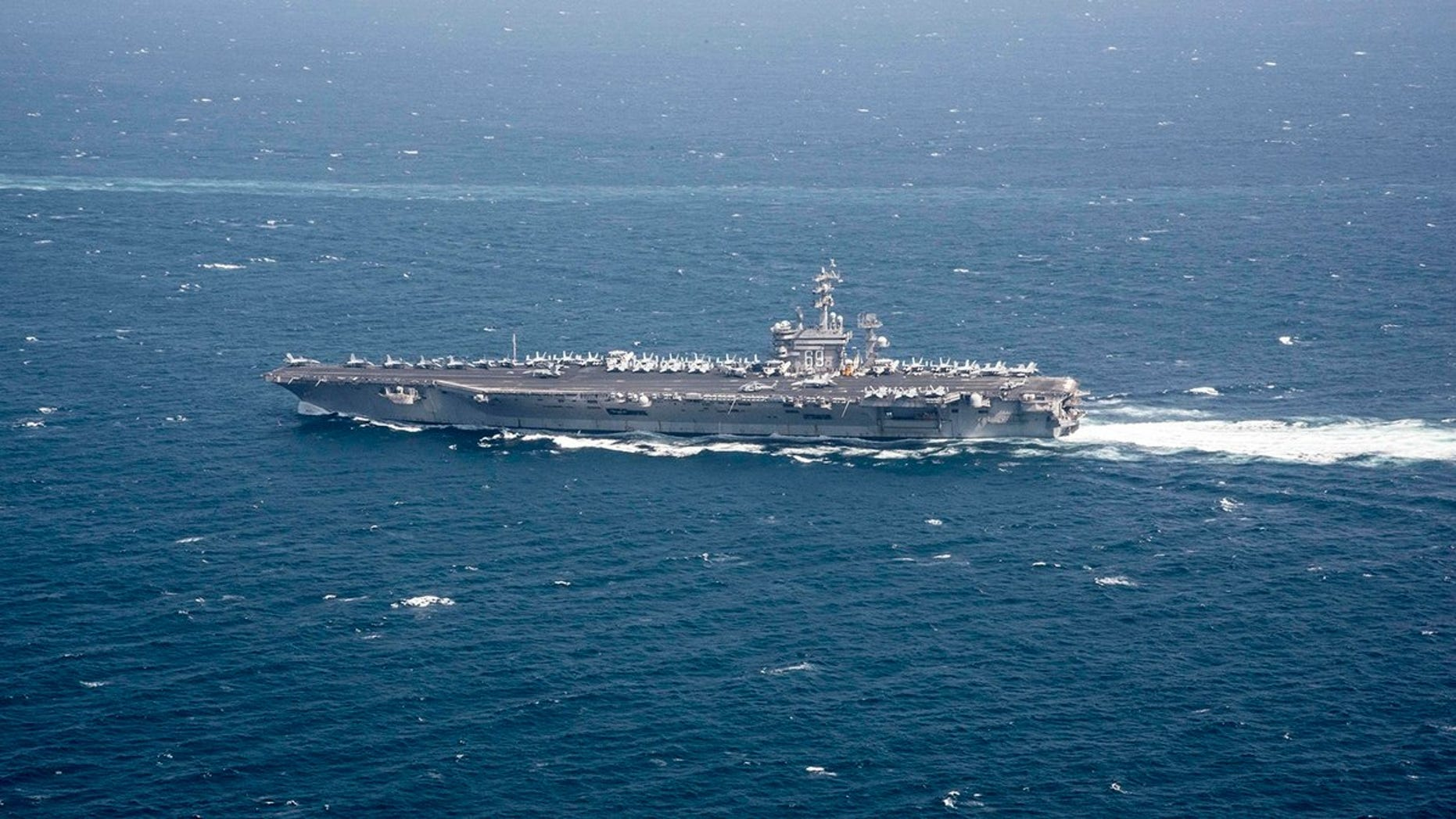Westlake Legal Group 7MDWEOY7CFEAJHY3IEIKJ65K54 SEE IT: Iranian drone purportedly monitored US carrier Eisenhower in Persian Gulf fox-news/world/conflicts/iran fox-news/us/military/navy fox news fnc/world fnc b3f367b2-4ca4-5646-8b44-04abfc75a11a article
