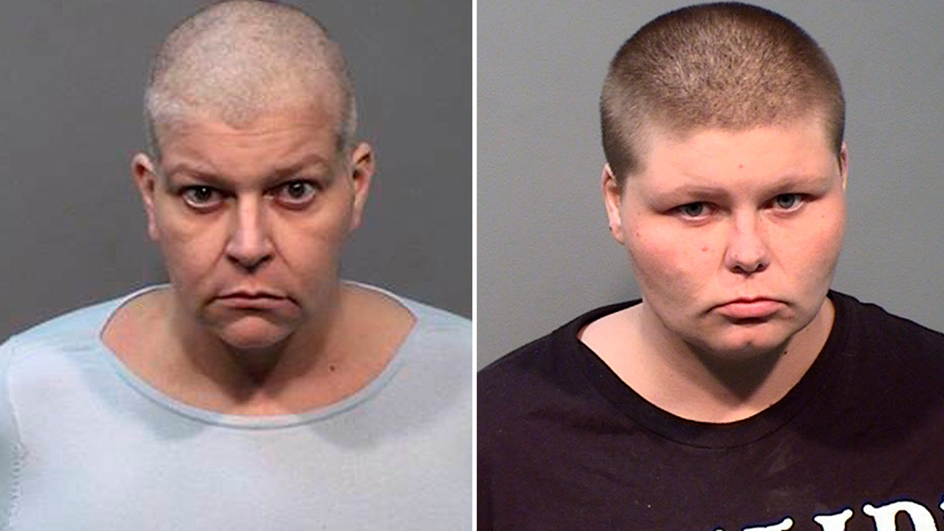 Tara Aven, 46, left, and Briar Aven, 24, right, were arrested Tuesday for allegedly killing the family's grandmother and cashing her monthly checks, police said.