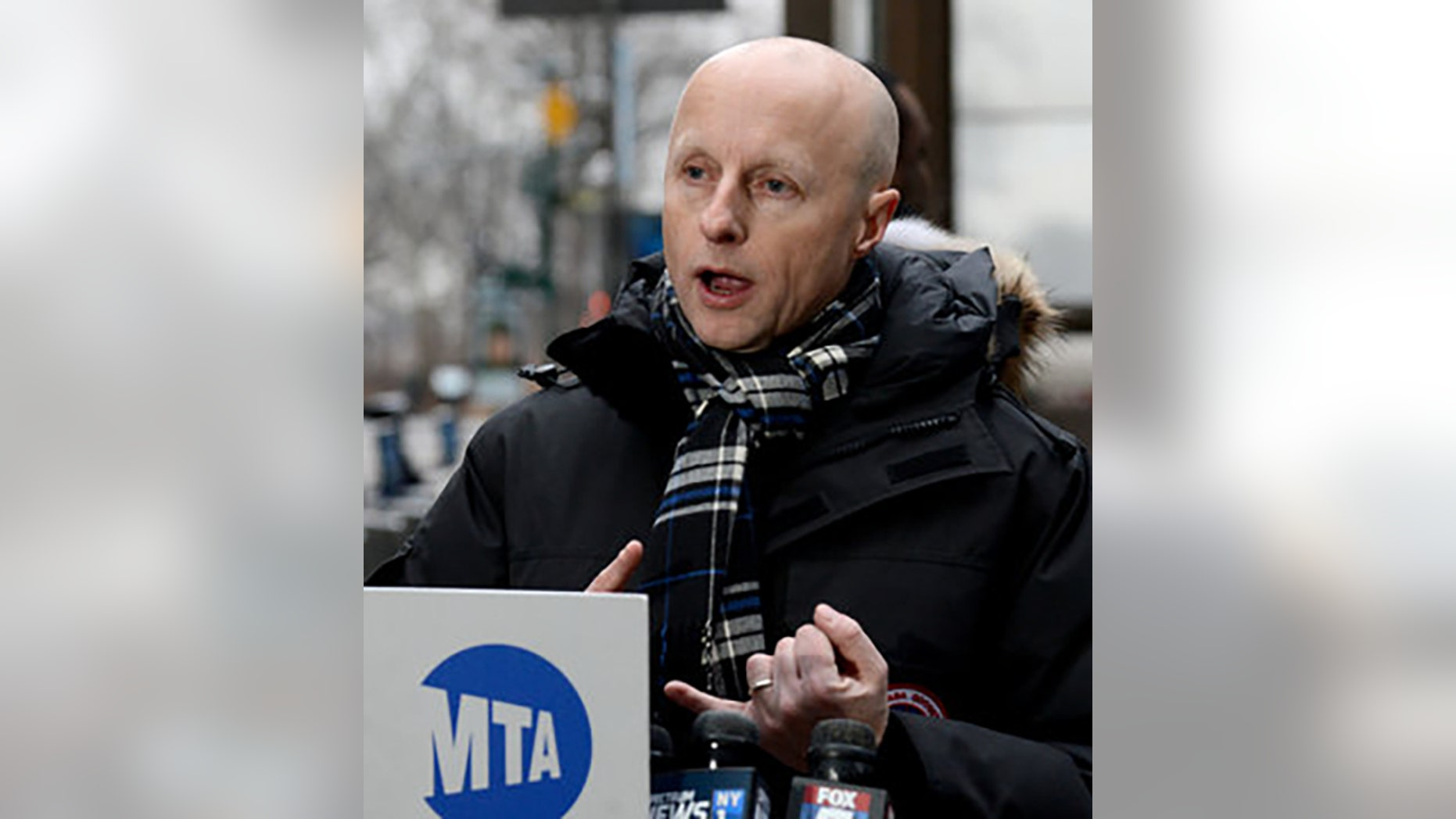 Andy Byford arrives at the Bowling Green Station to begin his first day as MTA New York City Transit President on Tue., January 16, 2018. Byford was only the 21st-highest earner in the MTA last year.