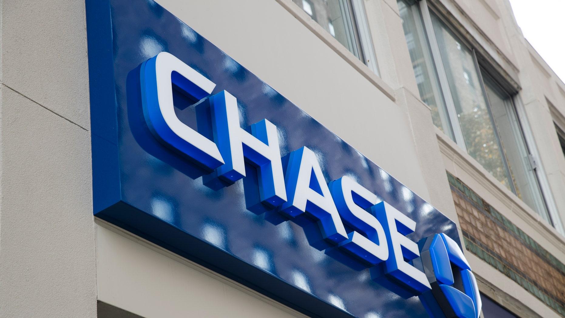 FILE: Chase bank location in Philadelphia.