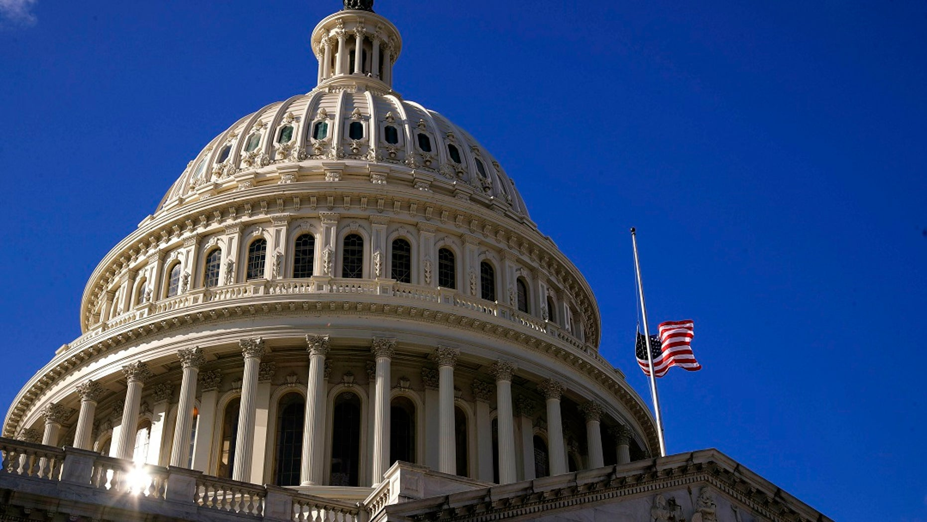 The U.S. Capitol dome in Washington. The 116th Congress is hitting its 100-day mark. (AP Photo/Manuel Balce Ceneta, File)