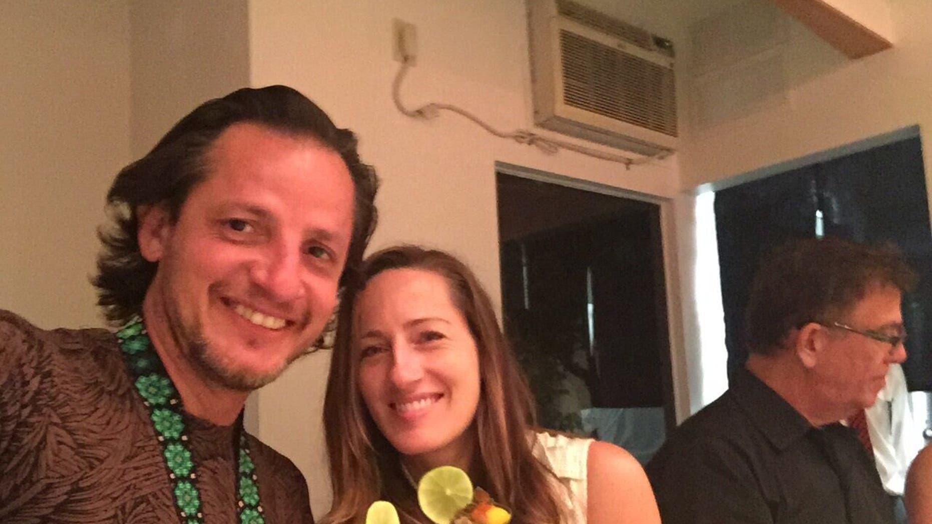 April Corley and Rafael Bejarano