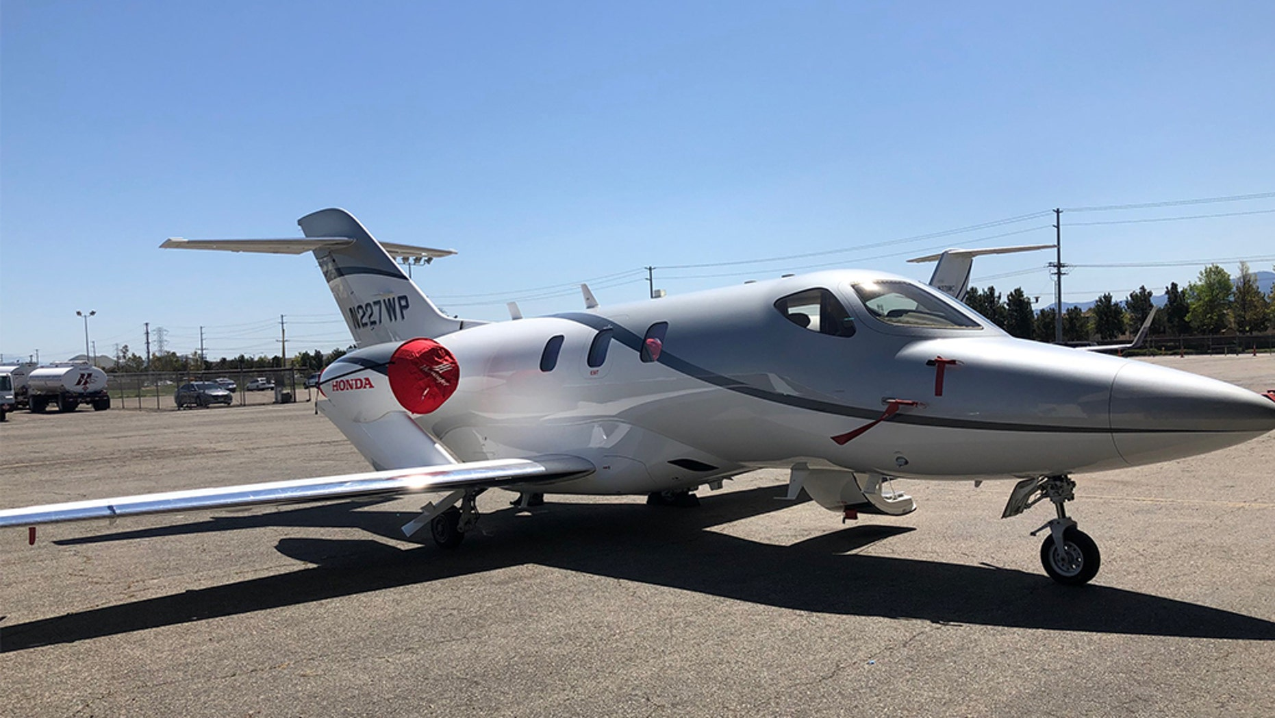 A U.S. Attorney's Office spokesman, Thom Mrozek, confirmed to Fox News that federal agents seized a Honda HA-420 twin-engine jet from Santa Barbara Airport about 10 a.m. after a federal judge issued a warrant.