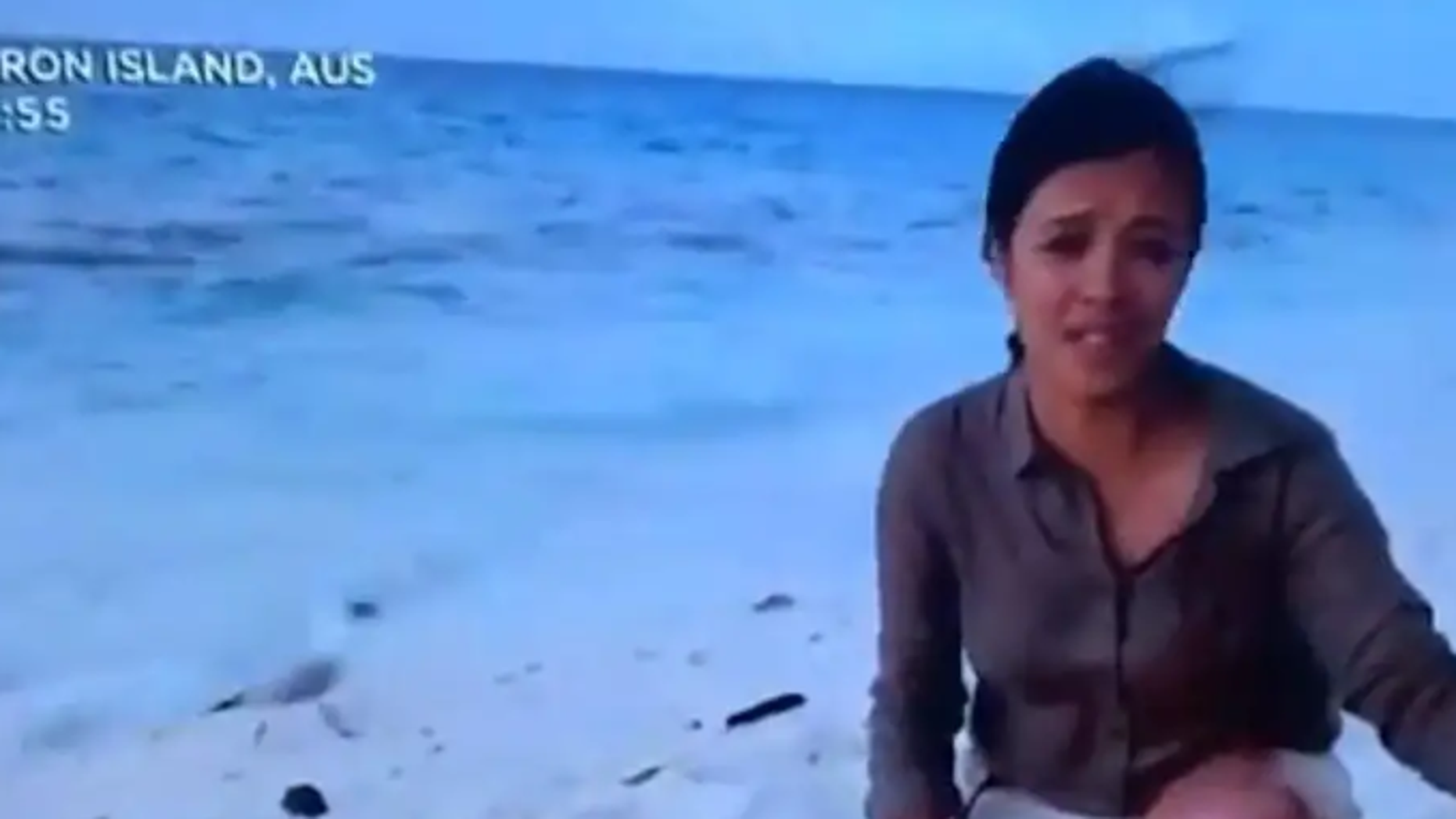 "Presenter Liz Bonnin of BBC's ""Blue Planet Live,"" was concluding the program when a seagull appeared to eat a baby turtle during a live broadcast."