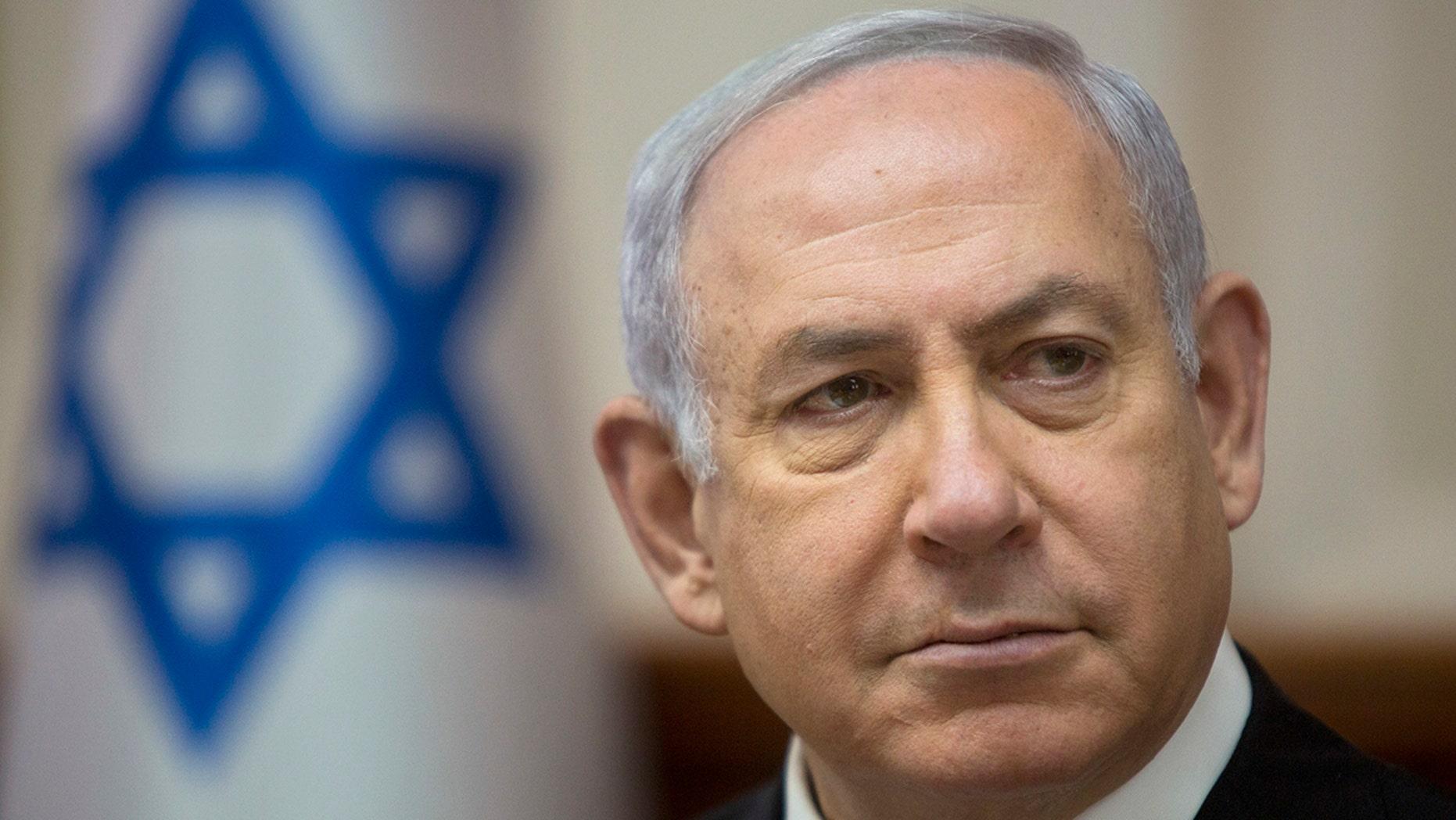 Westlake Legal Group Benjamin-Netanyahu-AP Netanyahu says if re-elected he will extend Israeli sovereignty over West Bank Talia Kaplan fox-news/world/world-regions/israel fox-news/world/world-regions fox-news/topic/fox-news-flash fox-news/person/donald-trump fox-news/person/benjamin-netanyahu fox news fnc/world fnc article 393817da-59e8-5de7-9a16-bd6cee1d1e4a
