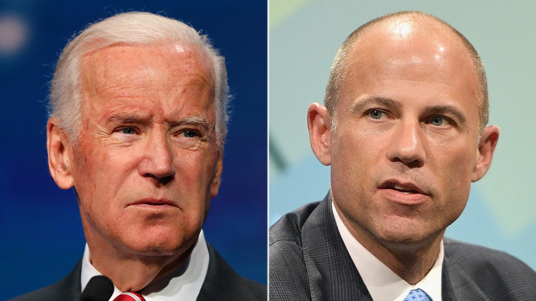 Former Vice President Joe Biden, who formally announced his 2020 bid on Thursday morning, has been backed by disgraced lawyer Michael Avenatti.