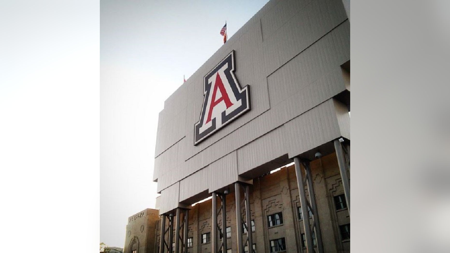 Dozens of University of Arizona professors are calling for the school to dropmisdemeanor charges against two students who protested against a visit by Border Patrol agents.