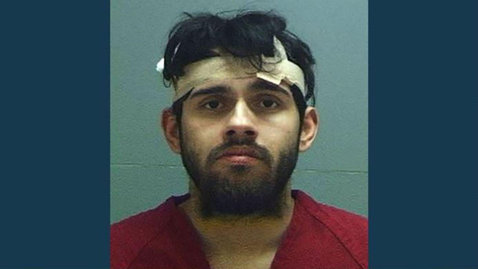 Christopher Patrick Medina-Izarrara, 27, was arrested forfelony aggravated robbery.