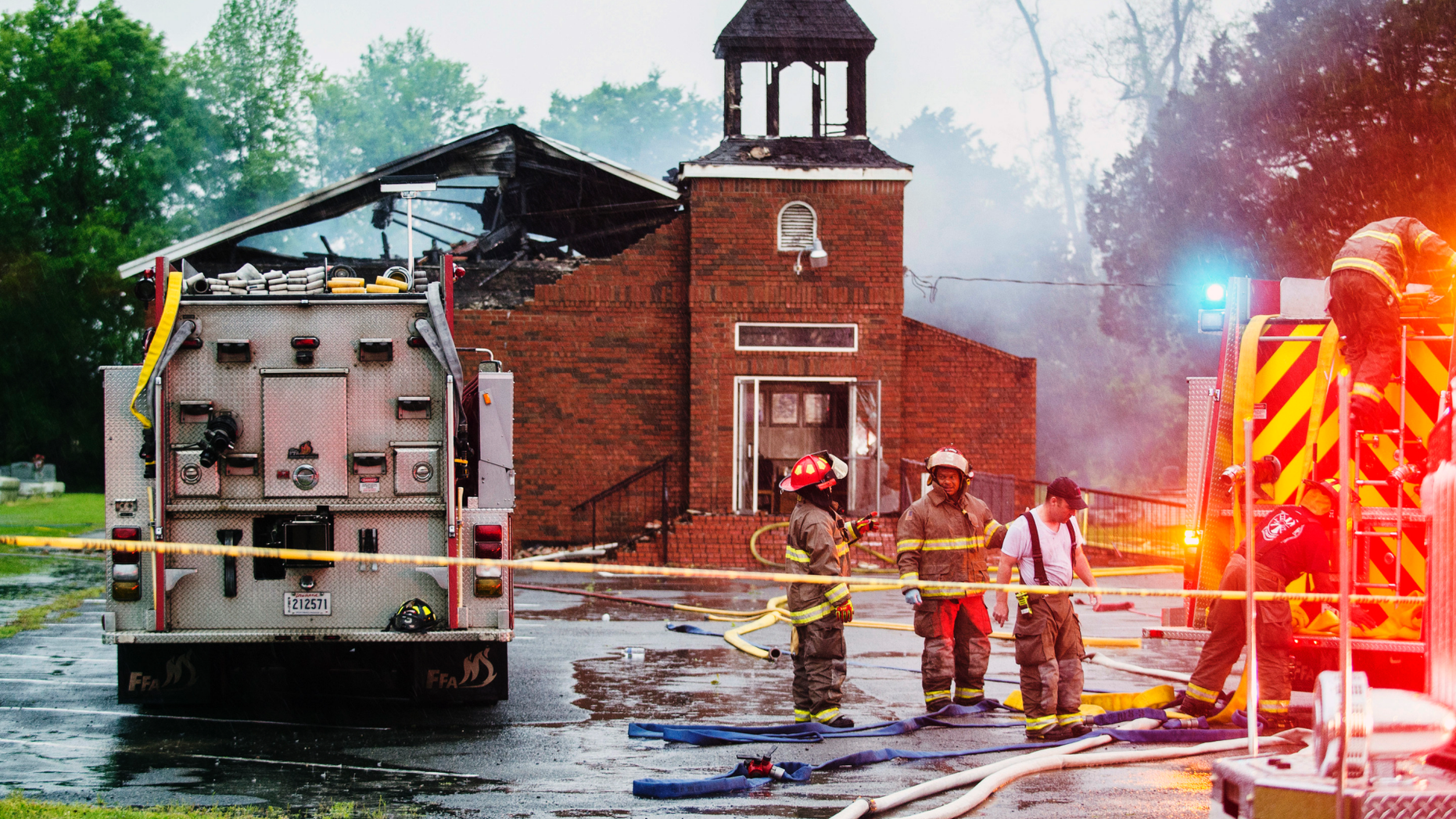 Over $1 million raised for three black Louisiana churches destroyed by arson
