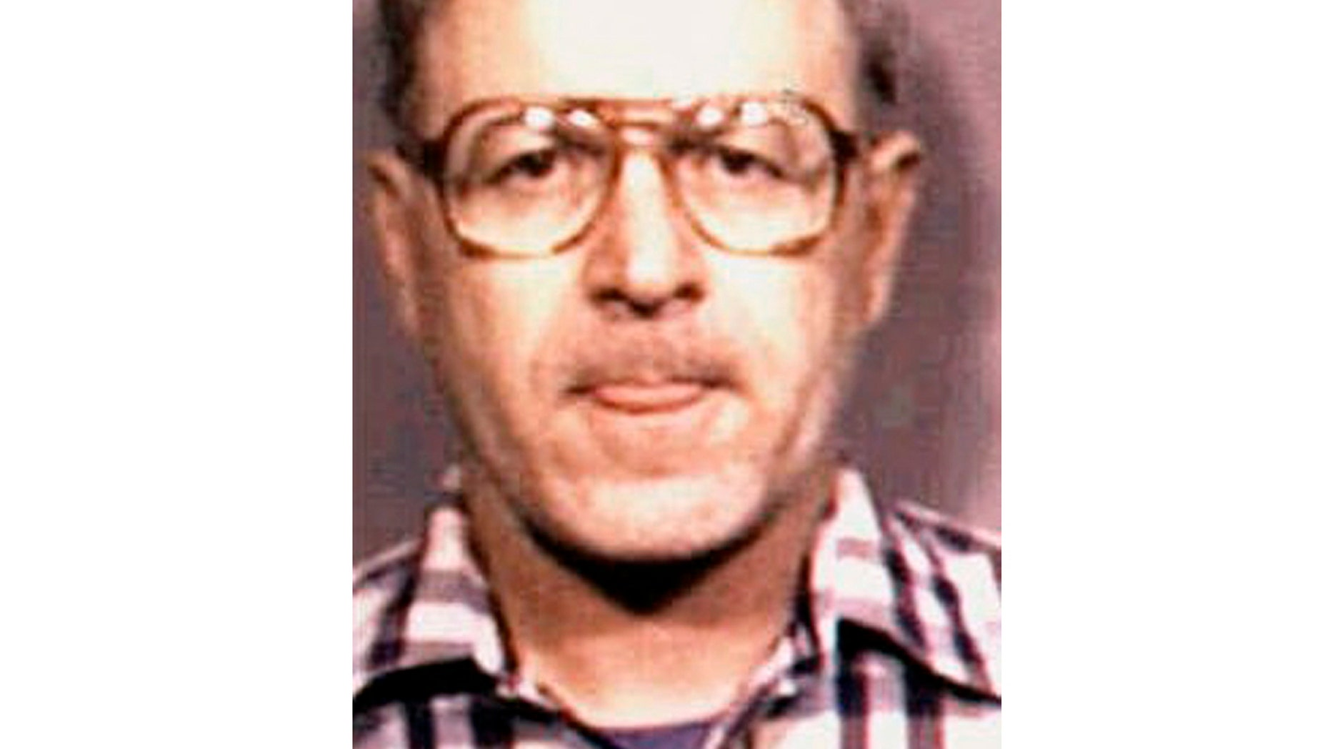 This photo provided by Caddo Sheriff's Office shows former Catholic priest Gilbert Gauthe.  The U.S. Catholic diocese where the first widely reported case of clergy sex abuse became public in the 1980s is releasing a list, Friday, April 12, 2019,  of clergy who face credible accusations of sexual abuse.   The names of 33 priests and four deacons are on the list. Other Louisiana dioceses have reported about 150 priests, deacons and other clerics. There may be some overlap, since the Lake Charles diocese was carved out of the Lafayette diocese in 1980. The Lafayette Diocese employed the first widely known abuser,  Gauthe, who pleaded guilty in 1985 to abusing 11 boys and testified that he'd abused dozens while serving at four churches in the diocese.   (Caddo Sheriff's Office via AP)