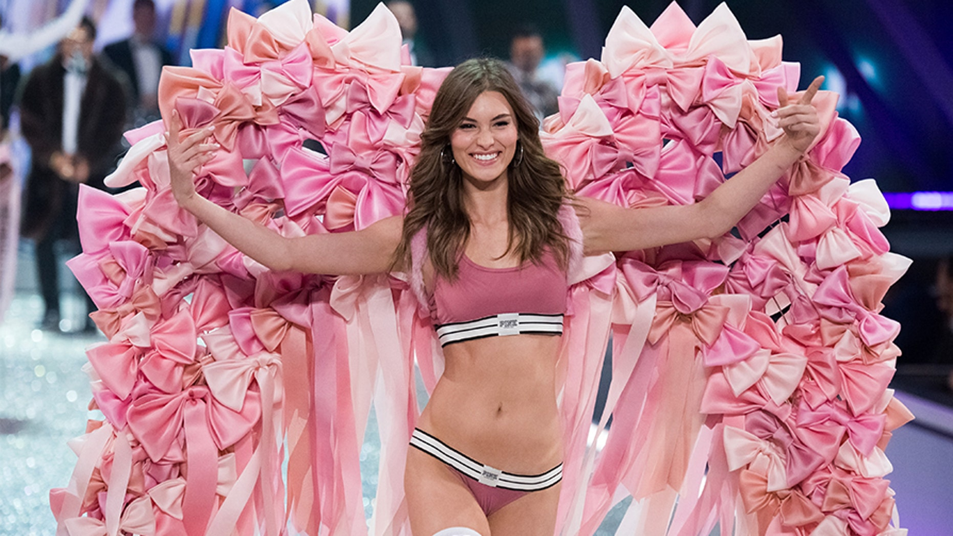 4a58dc5781 Grace Elizabeth walks the runway at the Victoria s Secret Fashion Show on  Nov. 30