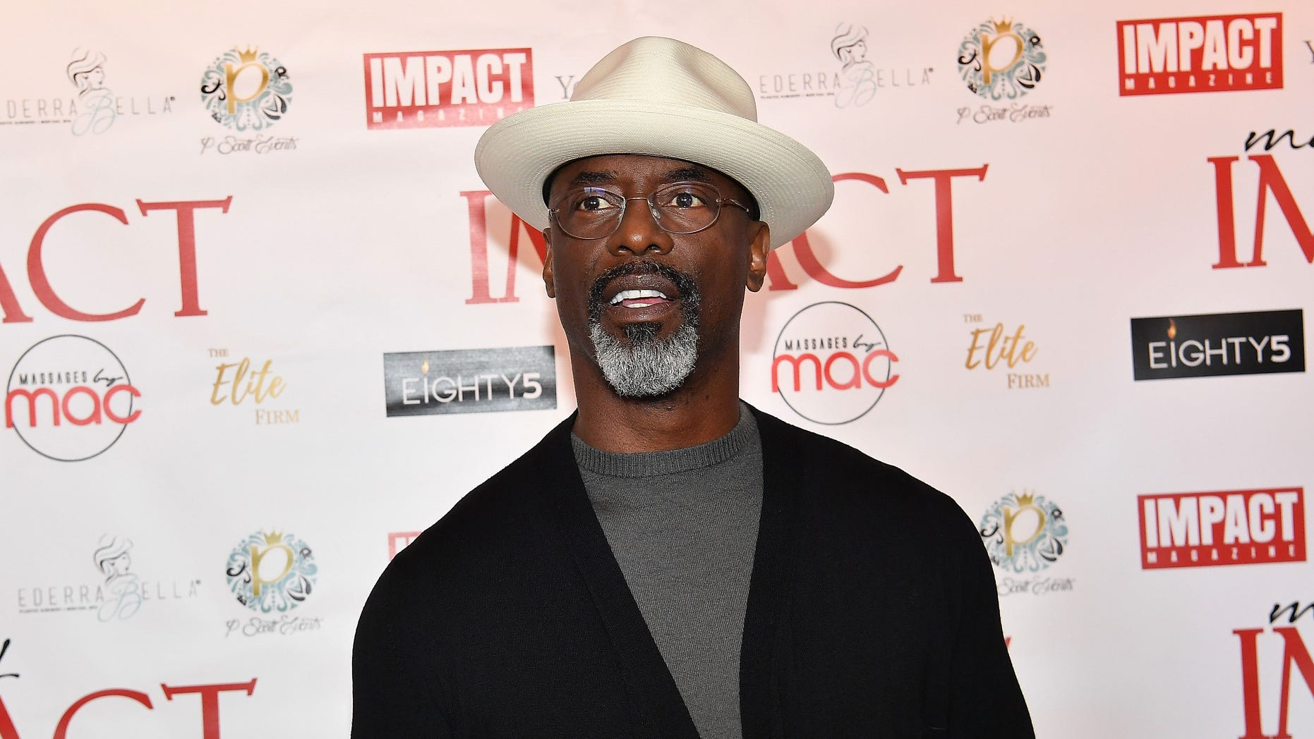 Actor Isaiah Washington attended a white house celebration of the first step law, praising President Trump.