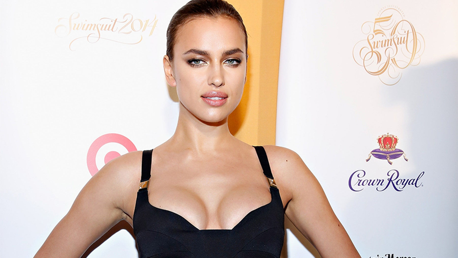 Model Irina Shayk attends as Captain Morgan White Rum and Crown Royal XO raise a glass to the Sports Illustrated Swimsuit 50 Years of Swim Issue at the Sports Illustrated Swimsuit Beach House in New York City — Getty