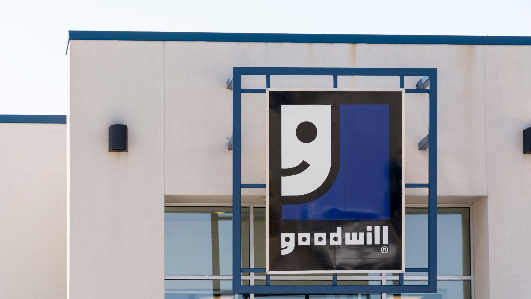 File photo - Goodwill store sign. (Photo by: Education Images/UIG via Getty Images)