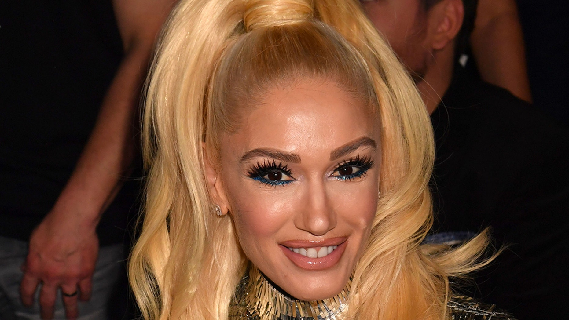 Gwen Stefani during the 54th Academy Of Country Music Awards at MGM Grand Garden Arena on April 07, 2019 in Las Vegas, Nevada.