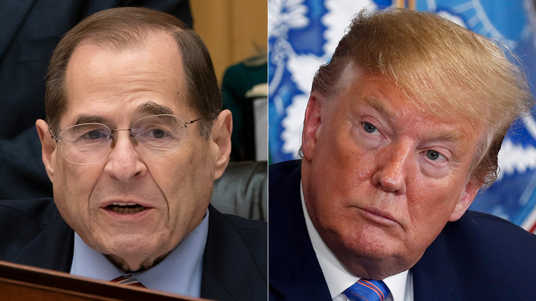 """House Judiciary Chairman Jerrold Nadler, D-N.Y., has ramped up his attack on President Trump, calling the administration """"lawless""""."""